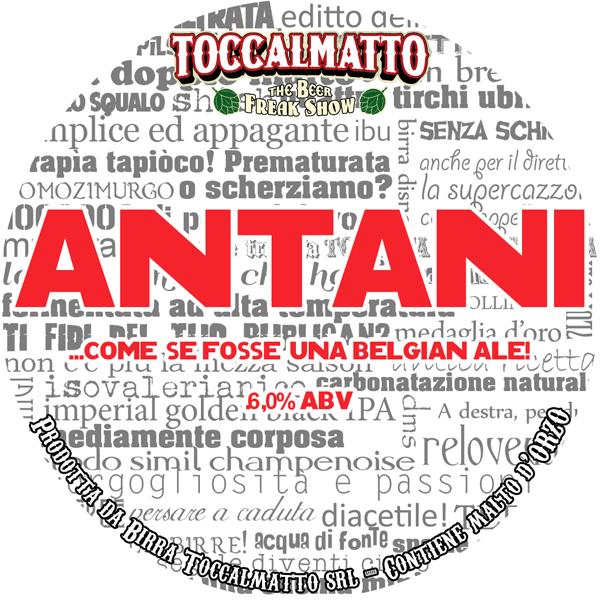 Birra Antani Toccalmatto